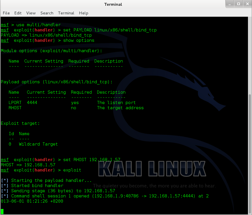 Sec24 hur hackar man DVWA penetrationstest command execution metasploit 2
