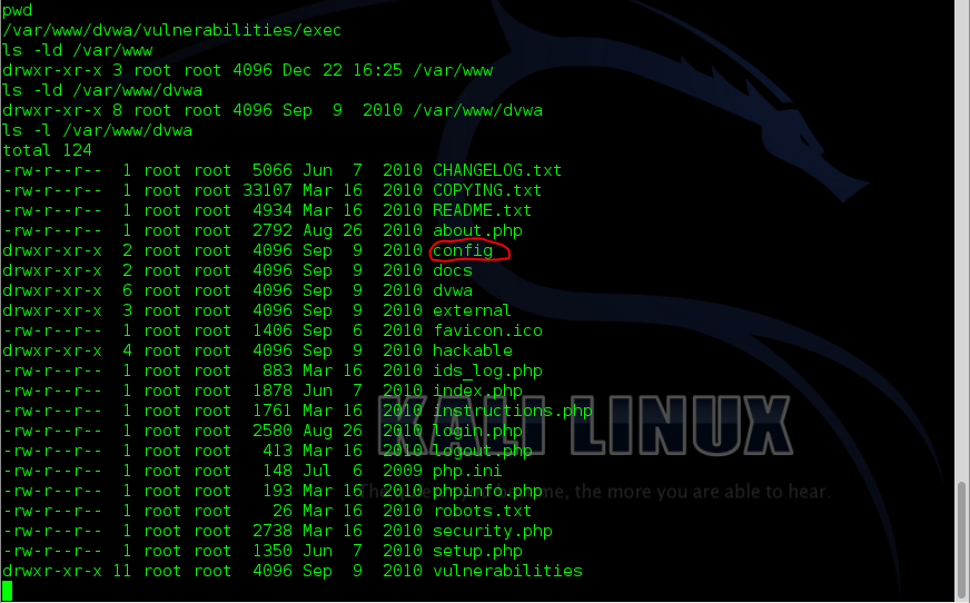 Sec24 hur hackar man DVWA penetrationstest command execution metasploit 7
