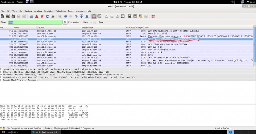 Sec24 Sec 24 Mailkryptering kryptering PGP NSA FRA avlyssning thunderbird enigmail gnupg 3