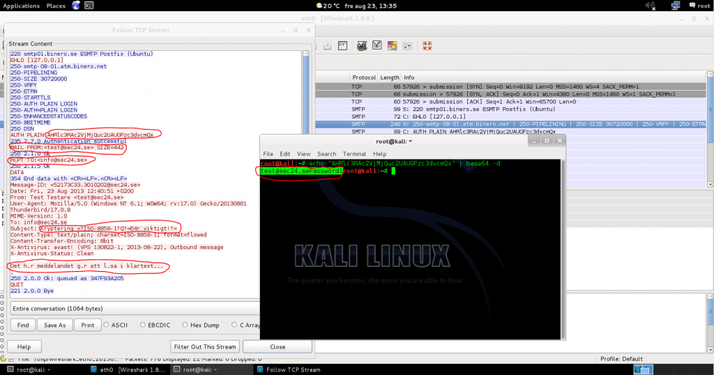 Sec24 Sec 24 Mailkryptering kryptering PGP NSA FRA avlyssning thunderbird enigmail gnupg 5