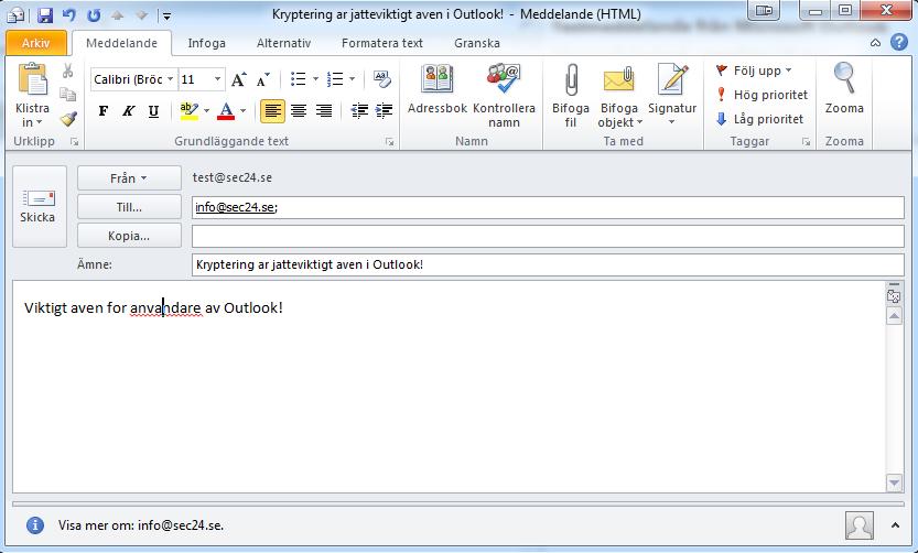 Sec24 Sec 24 Mailkryptering kryptering PGP NSA FRA avlyssning thunderbird enigmail gnupg 7